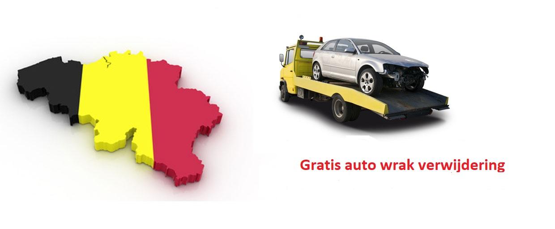 Gratis auto wrak verwijdering